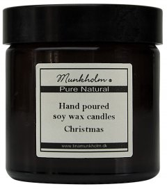 Soy wax lys - Christmas 60 ml.