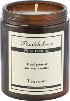 Soy Wax Lys - Tea room 180ml.